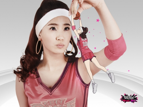 The Wonder Girls endorsement of the FreeStyle Street Basketball online game