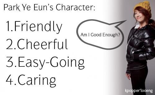 park-ye-eun-character